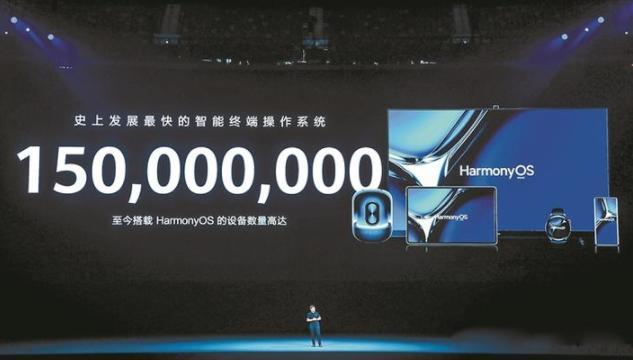 华为公布最新成绩单!鸿蒙OS覆盖设备超1.5亿台