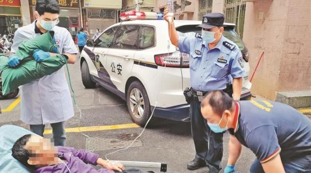 深圳男子在家突发疾病 家属求助后失联 警医联动紧急救援