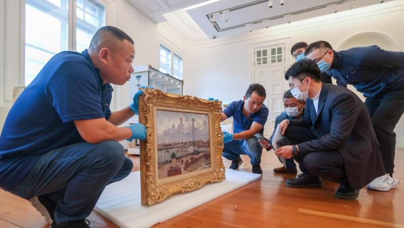 第四届进博会首批艺术品完成文物临时进境审核登记