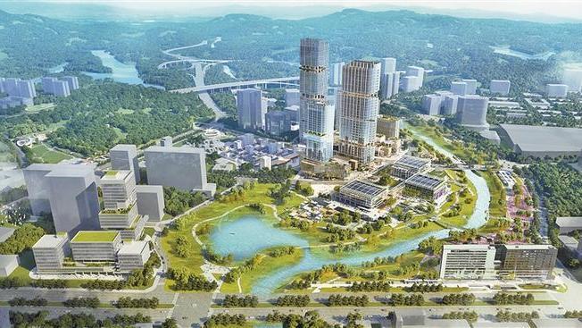 """探索""""双碳+"""" 创出新模式 国际低碳城文化会议中心建设有序推进"""