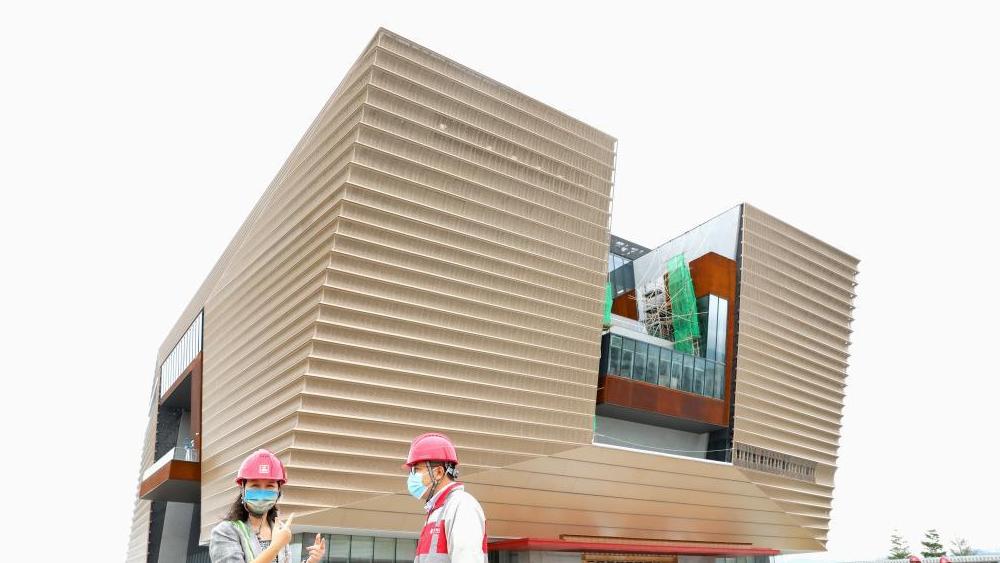 香港故宫:崭新地标见证大国建造