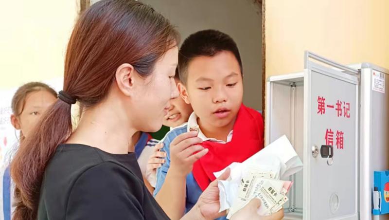 这所学校开设第一书记信箱 孩子纷纷来信……