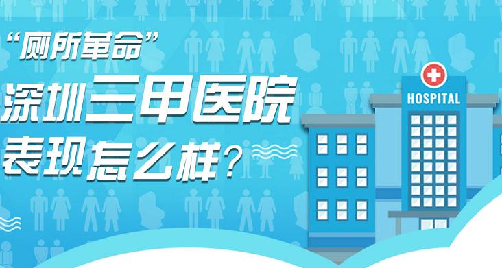 厕所革命,深圳三甲医院表现怎么样