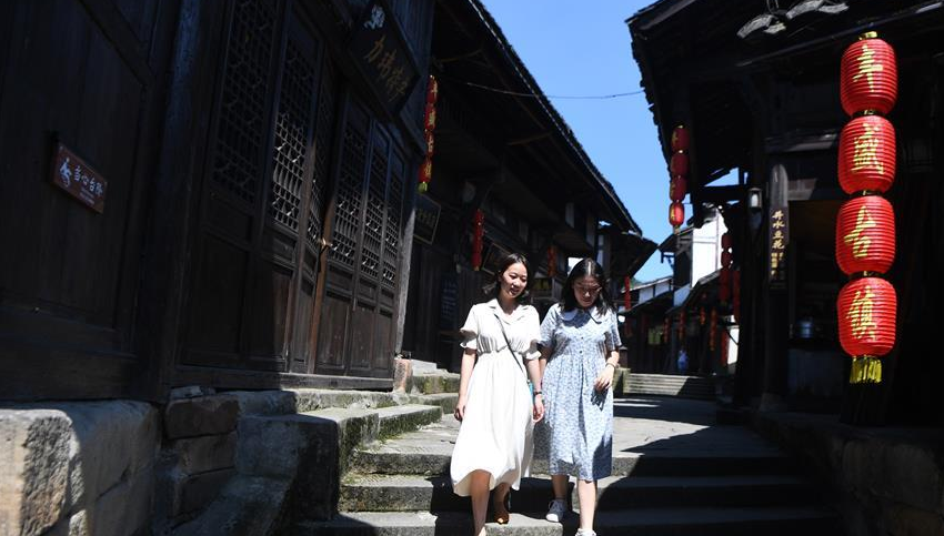 重庆巴南:丰盛古镇引客来