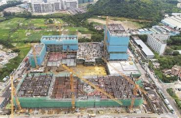 """关键词:综合性国家科学中心 深圳""""两城一区""""建设忙"""