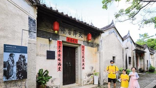 龙华区掀起古村游热 文化旅游节持续升温
