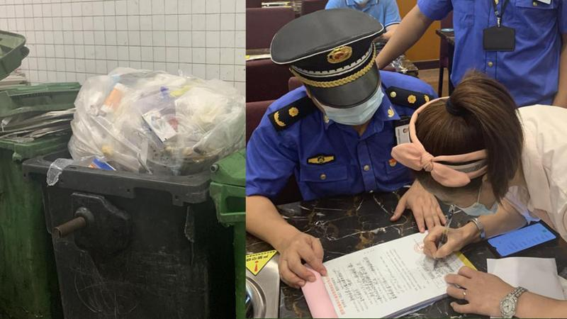 垃圾分类专项执法行动 家乐福超市和金泰轩存在分类不规范行为
