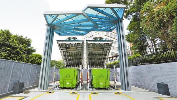 """深圳建成4座智能""""地埋式""""垃圾转运站,还有两座月底建成"""