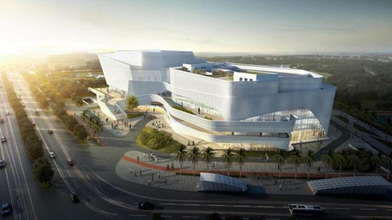 正式开建!宝龙文体中心将打造国际化综合文化体育设施