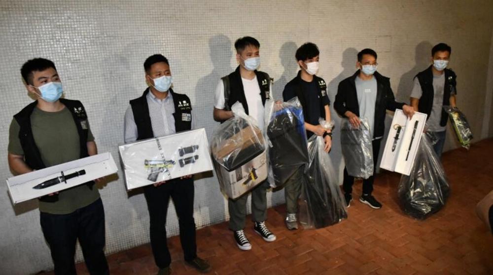 香港黑暴图谋中秋夜袭警三牛娱乐app,各界呼吁执法部门立案调查