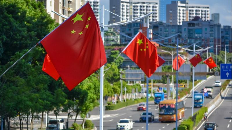 深新早点 | 处处国旗红!10万面国旗飞扬深圳街头成风景(语音播报)