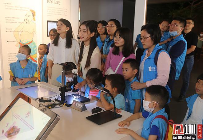 中英街文化体验营走出深圳 宣传展示中英街独特历史文化
