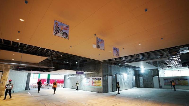 香港故宫文化博物馆大楼主体结构竣工 计划2022年中开幕