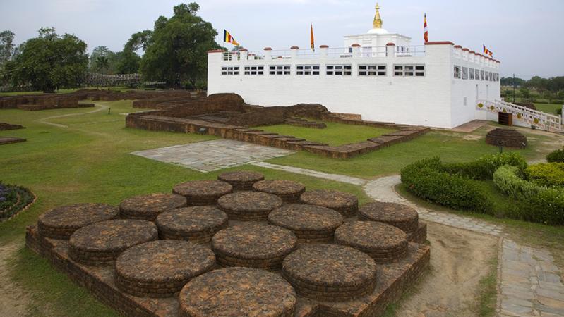 释迦牟尼诞生地尼泊尔蓝毗尼圣园重新向游客开放