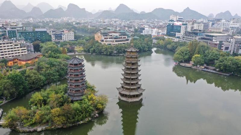 冬日桂林景色美