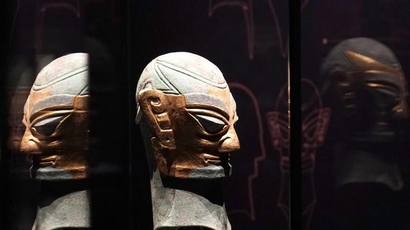 上海大学博物馆举办三星堆特展