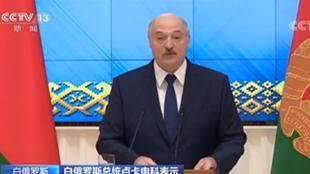 """白俄罗斯愿与中国继续扩大""""一带一路""""合作"""
