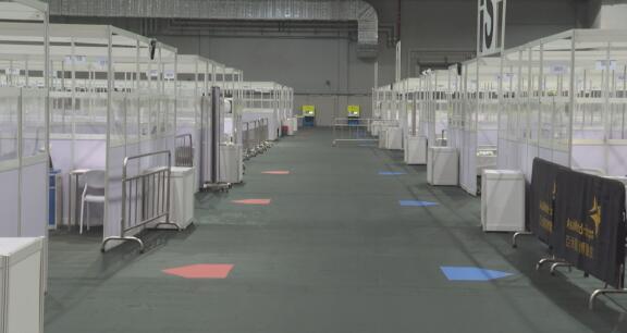 香港重启亚洲国际博览馆社区治疗设施收治新冠患者