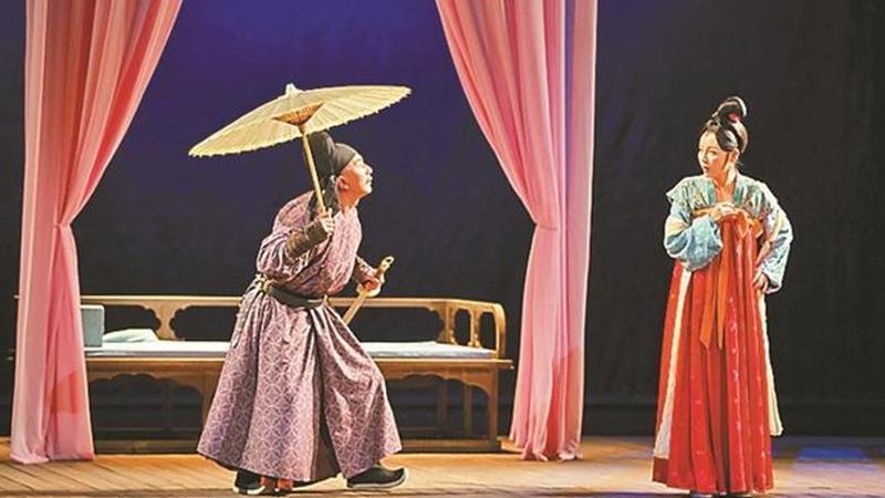 张国立导演话剧《我爱桃花》 将于新年登上深圳大剧院舞台