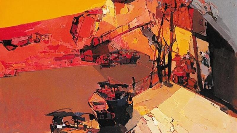 第二届深圳大芬国际油画双年展开幕 15位大芬画家作品入选