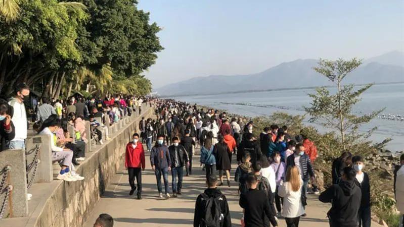 深新早点 | 深圳元旦大数据出炉!公园游客136.5万人次,到发旅客164.78万人次