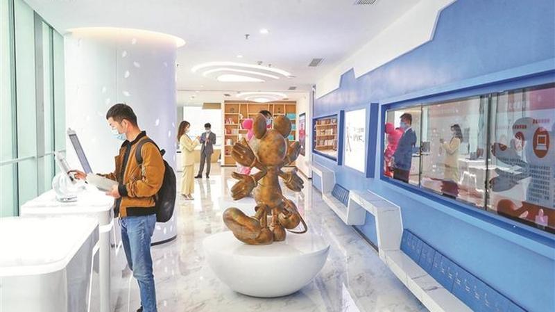 深圳北站港澳青年双创中心启用 首批港澳入驻团队意向签约