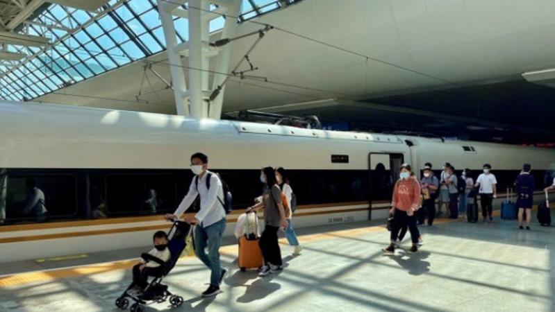 深圳到南沙再添两条高铁线路