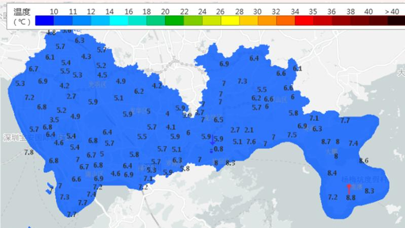 深新早点丨等了1066天,深圳终于再次成功入冬!