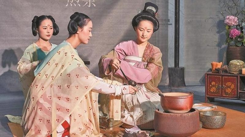 """大咖雅集紫苑雅活三地谈 """"唐礼煎茶""""再现古代茶道精华"""