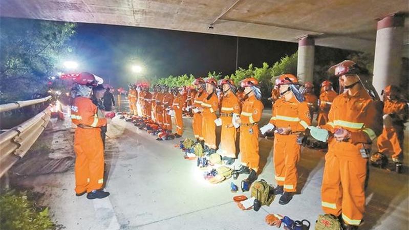 深圳多措并举加强森林消防能力建设