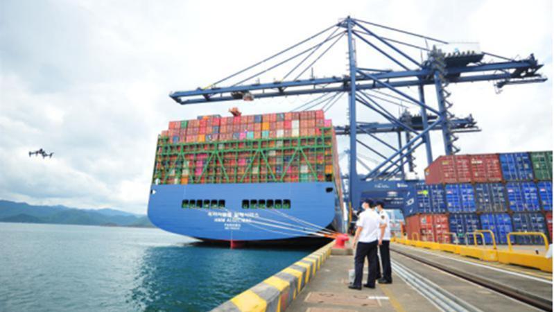 盐田港2020年集装箱吞吐量达1334.81万标箱 实现逆势增长2.13%