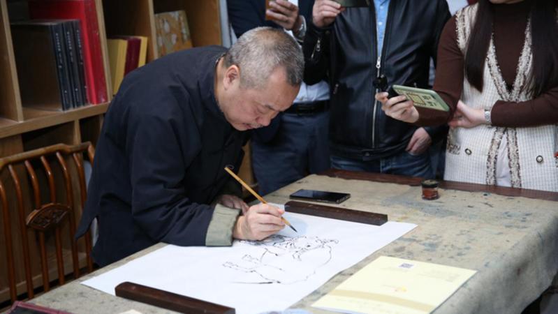 艺术邂逅公益,陈湘波艺术公益基金举行新春雅集