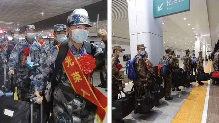深圳市2021年春季新兵陆续起运,445名新兵将奔赴火热军营