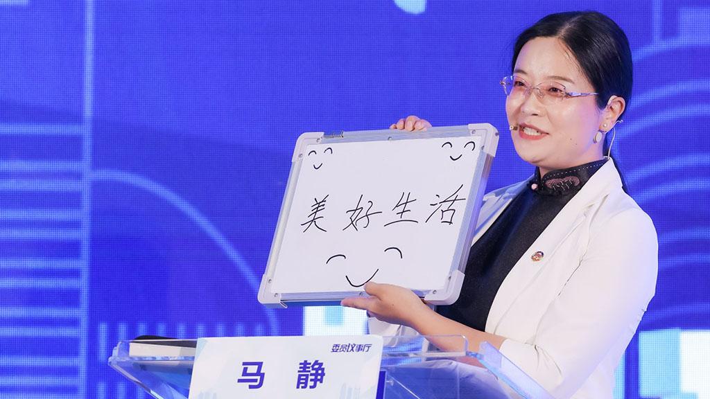 龙华区政协委员马静:让孩子能坐下来,参与到观澜河的建设过程