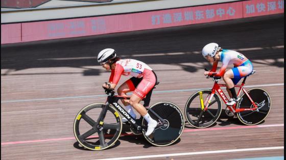 残疾人运动会自行车赛开幕!13个省(市)运动员齐聚深圳龙岗竞技