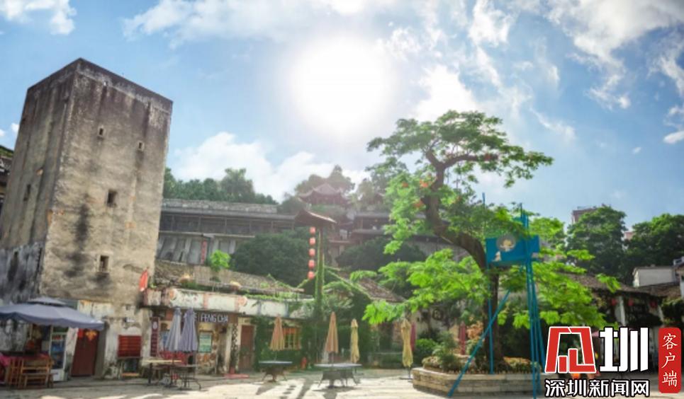 龙岗红色文化地图•甘坑炮楼:打造三位一体教育基地