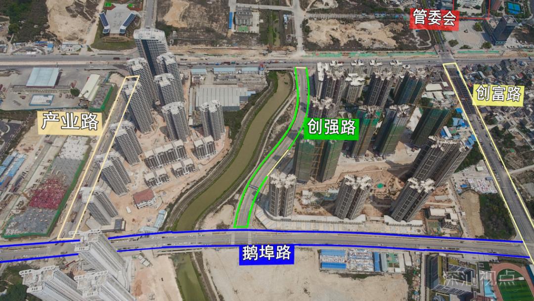 深汕合作区:鹅埠片区路网体系加速成型 助力深汕新城崛起