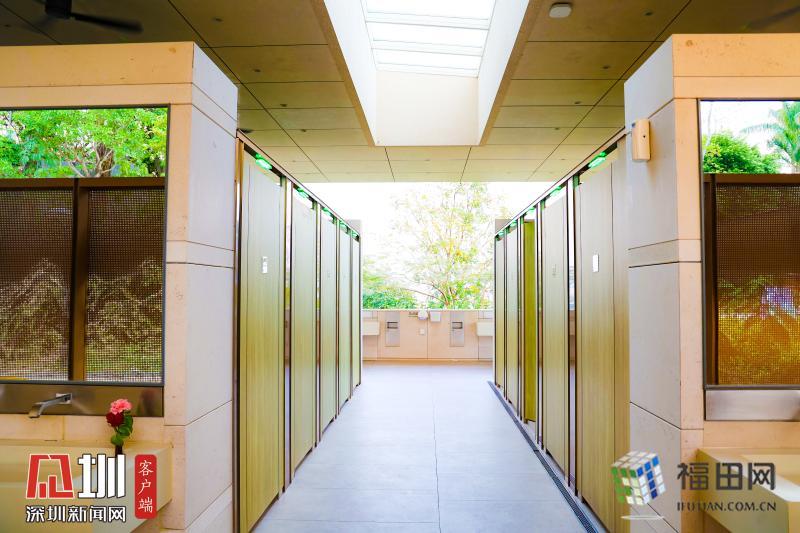 福田区的公厕设计,体验过才知道,真香!
