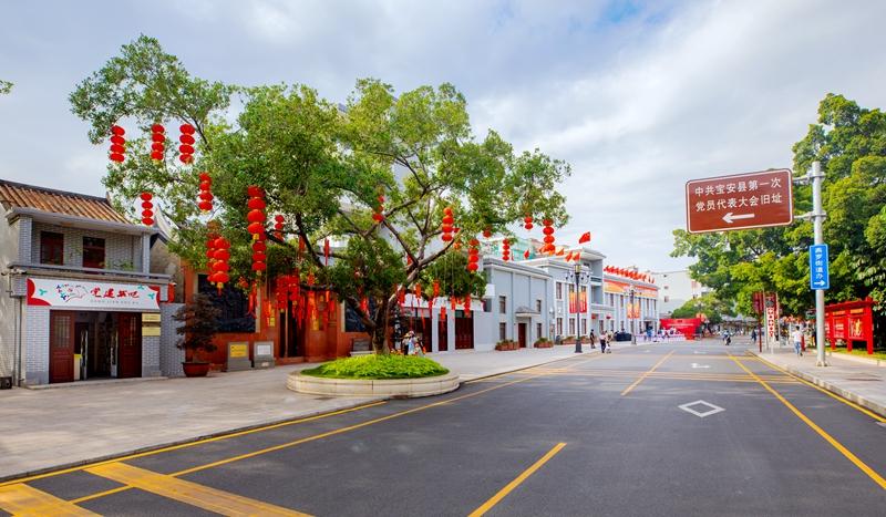 燕罗街道红色旧址环境提升 助推党史学习教育落地