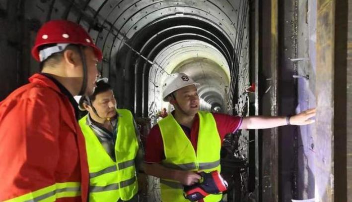 实际施工仅20天 南方科技大学医学院项目涉东江水源隧洞内加固工程收官