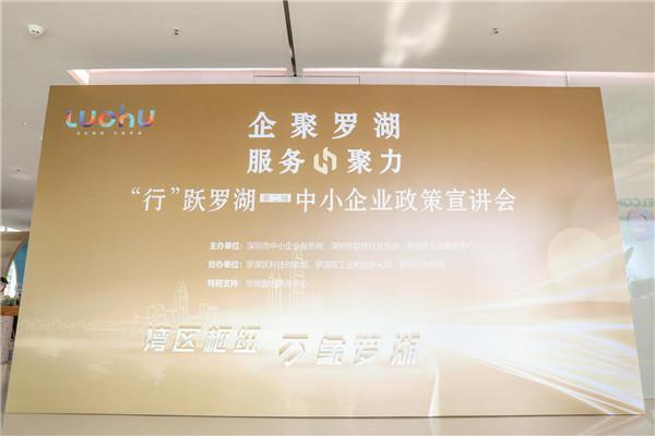 """中小企业如何转型升级、创新发展?""""行""""跃罗湖有答案"""