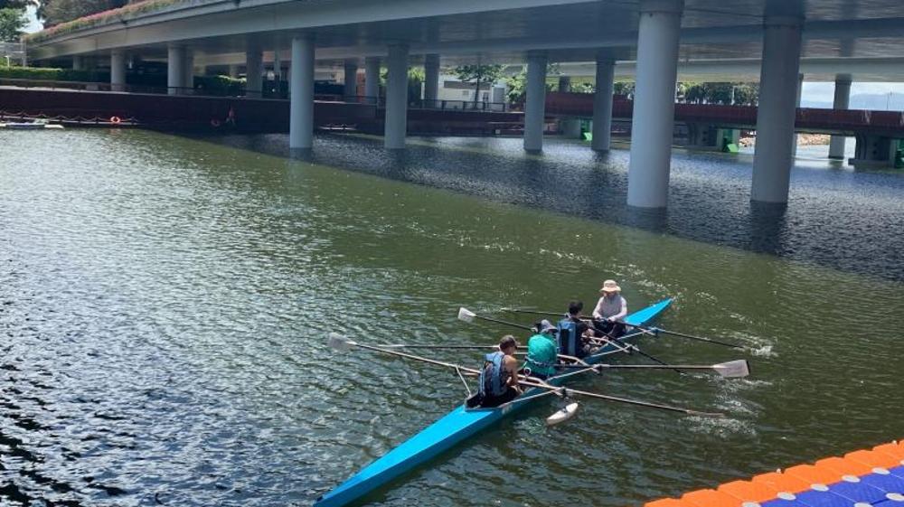 """皮划艇回归大沙河""""河小二""""守护门前河深圳河湖长制成绩显著"""