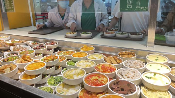 星期三查餐厅|制止餐饮浪费,福田这家医院公众食堂推出健康营养小份菜
