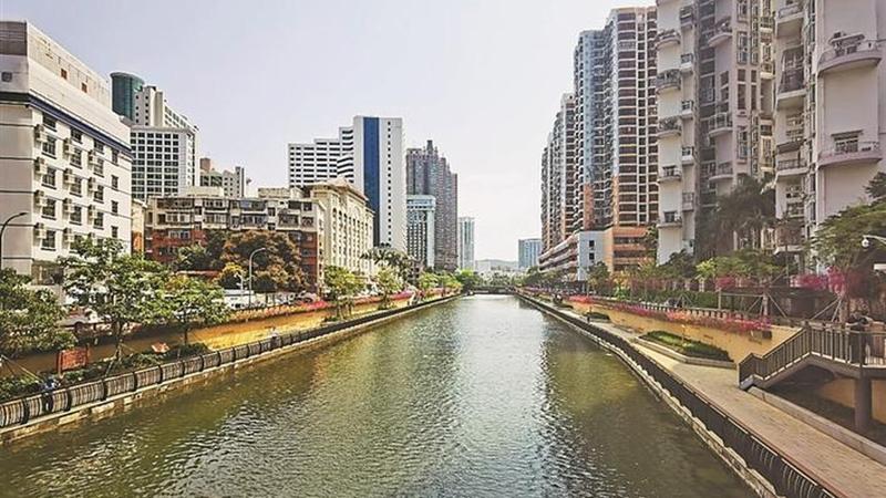 深圳市水污染治理攻坚纪实图片展罗湖站巡展启动