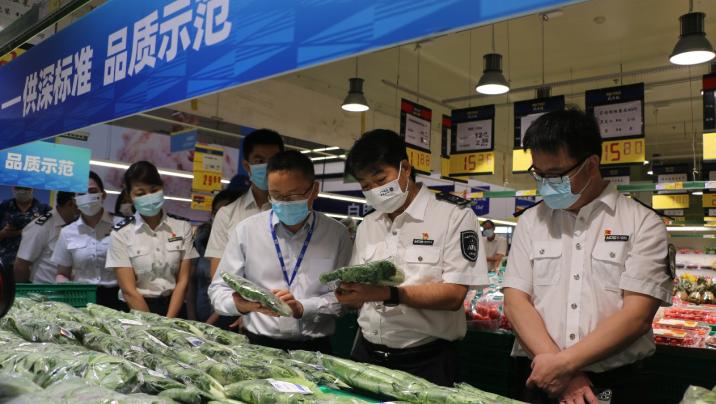 """深圳严抓节前食品安全 """"圳品""""再登陆一商超"""