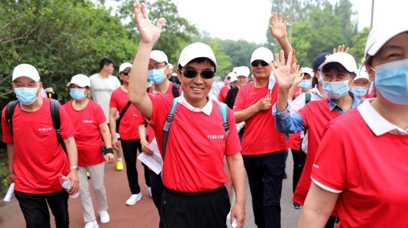 """""""器官捐献、生命接力""""户外健步走公益宣传活动在京举行"""