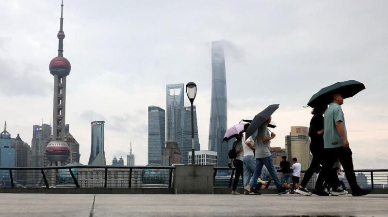 上海进入梅雨期