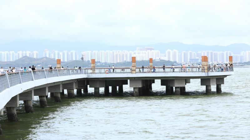深圳公园端午期间迎客130.7万人次,赏花游玩不忘防疫