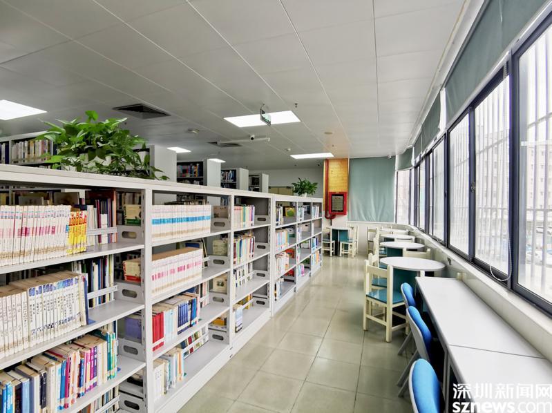 横岗街道图书馆入选深圳市儿童友好图书馆
