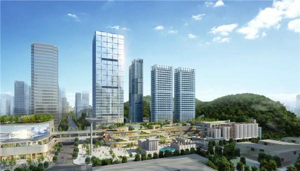 助力城市更新 罗湖千亿级城改示范项目迎来全面封顶